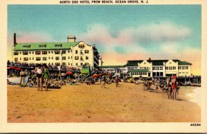 New Jersey Ocean Grove North End Hotel From The Beach