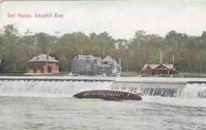 PENNSYLVANIA; Boat Houses, SCHUYLKILL RIVER, PU-1911