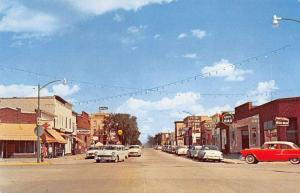 Cass Lake Minnesota Street Scene Vintage Postcard JD933455
