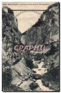 Postcard Briancon Old Baldy on the bridge Cerveyrette
