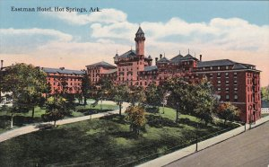 HOT SPRINGS, Arkansas, 1900-1910s; Eastman Hotel