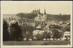 czech, ZAMBERK, Panorama (1931) RPPC