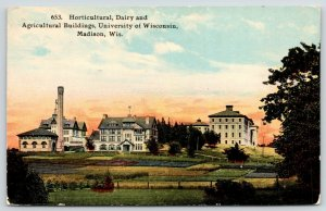 Madison~University of Wisconsin Campus~Horticulture~Agricultural Buildings~1911