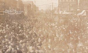 RP: Street Carnival, Moose Jaw , Saskatchewan , Canada , 1912