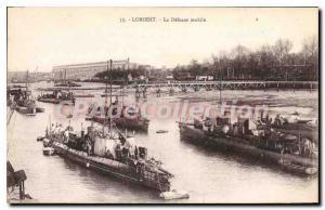 Old Postcard Lorient La Defense Mobile