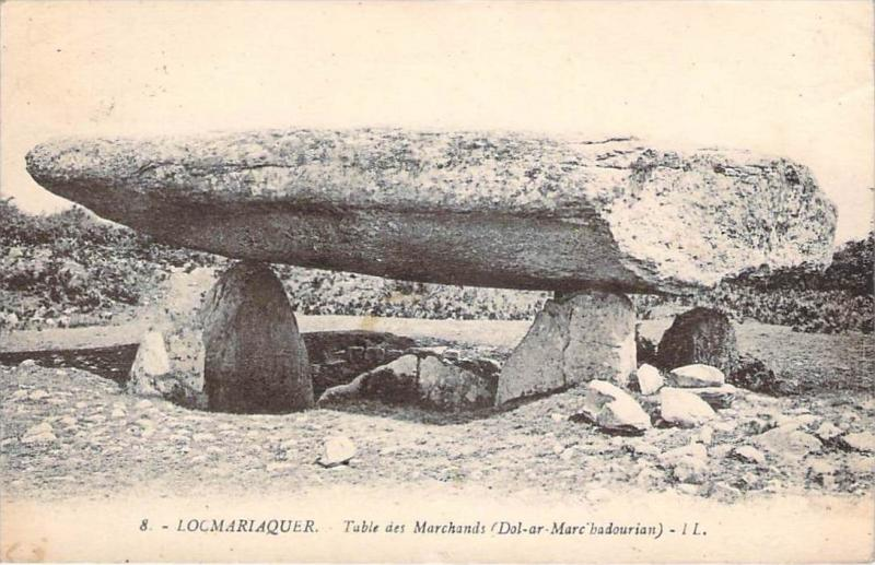 56 - Locmariaquer - Table des Marchands