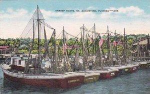Florida Saint Augustine Shrimp Boats