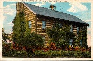 Ohio Dayton Oldest House Built 1796 1930