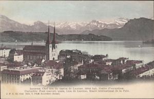 Lucerne Luzern panoramic Switzerland