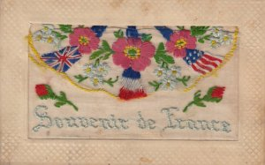 Embroidered 1914-18 ; Souvenir de France : #1