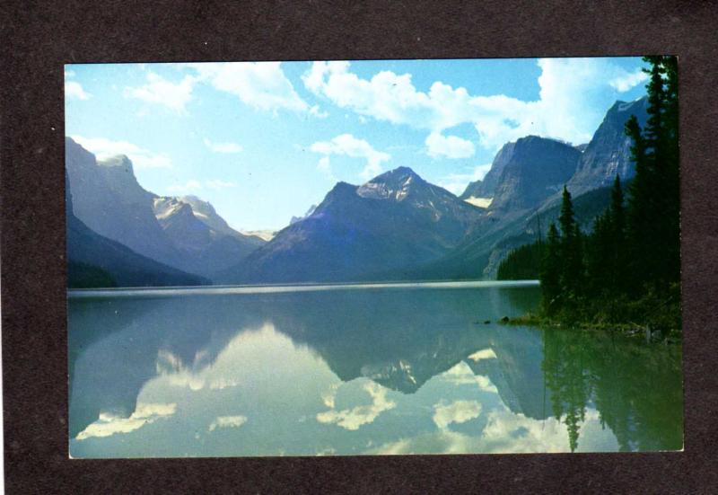 AB Jasper National Park Alberta Canada Carte Postale Postcard Maligne Lake