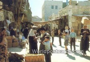 Jerusalem, Israel At Mea Shearim Quarters At Mea Shearim Quarters