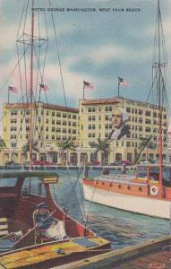 Florida West Palm Beach Hotel George Washington 1946