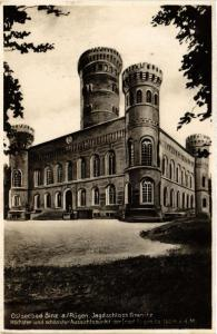 CPA AK Ostseebad Binz auf Rügen  Jagdschloss Granitz  GERMANY (662878)