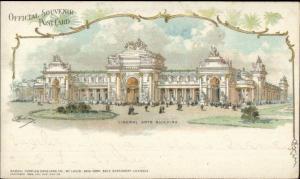 1904 St. Louis World's Fair LIBERAL ARTS BLDG Postcard