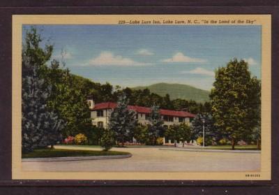 North Carolina colour PC Lake Lure Inn Land of the Sky