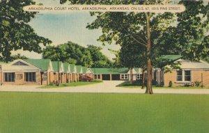 ARKADELPHIA , Arkansas, 1930-40s ; ARKADELPHIA Court Hotel