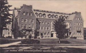 Massachusetts Amherst morris Pratt Dormitory Amherst College 1948