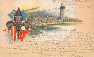LP38 St.Louis World's Fair  Missouri Hesse  Postcard Exposition
