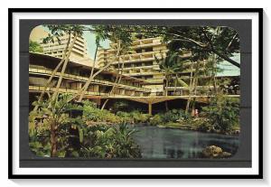 Hawaii - Hilton Hawaiian Village Hotel - Lobby Gardens - [HI-008]