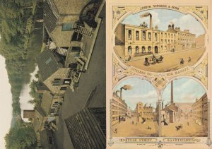 Norfolk Street Sheffield Yorkshire 2x Industry Factory Postcard s