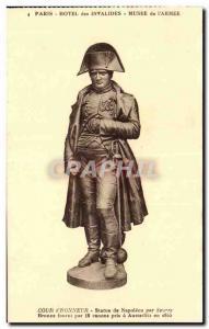 Paris - 7 - Invalides - Museum of Weapon - Statue of Napoleon - Old Postcard