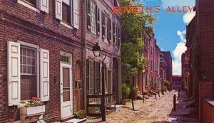 PA - Philadelphia, Elfreth's Alley