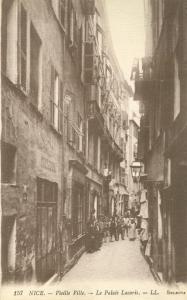 Nice, Vieille Ville, Le Palais Lacaris, 1917 used Postcard