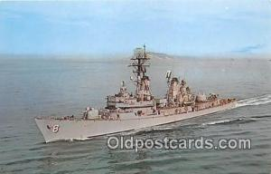 Bay City, Michigan, USA Postcard Post Card USS Lynde McCormick DDG8