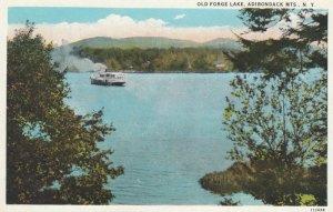 ADIRONDACK MTS., New York, 1900-10s; Old Forge Lake