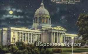 Missouri State Capitol Jefferson City MO 1953