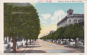 Cuba Havana Marti or Prado Promenade
