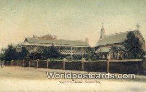 Nazareth Home Kimberley South Africa Unused