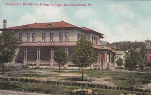 MECHANICSBURG , Pennsylvania, 00-10s ; Irving College, President's Residence
