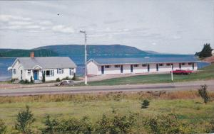 St Ann's Motel , St Ann's Harbour , Cape Breton , Nova Scotia , Canada , 50-60s