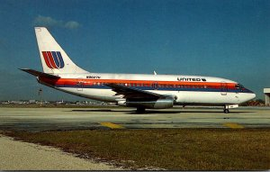 United Airlines Boeing 737-222