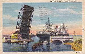 CORPUS CHRISTI , Texas , PU-1944 ;  Bascule Bridge