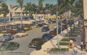 MIAMI BEACH, Florida, 1930-40s; Lincoln Road Shopping Center