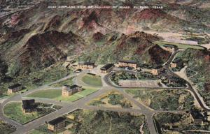 Texas El Paso Airplane View Of College Of Mines
