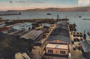 TANGIER , Morocco , 00-10s ; Le Port et la Douane