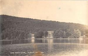 Fairlee Vermont Lake Morey Club Real Photo Antique Postcard K40731