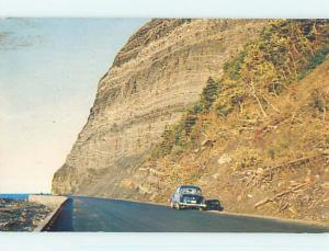 Pre-1980 TOWN VIEW SCENE Gaspe Nord Quebec QC p9930