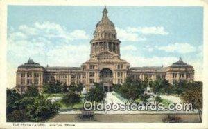 Austin, Texas, TX State Capital USA 1923 light wear, postal used 1923