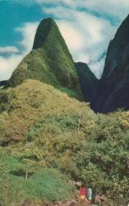 Hawaii Maui The Needle In Iao Valley Near Wailuku