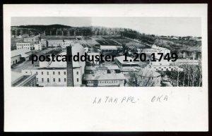 1749- LA TRAPPE Que 1940s Factories Birds Eye Vie. Real Photo Postcard by Allard