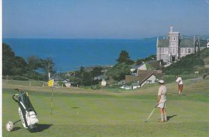 Post Card Cornwall Whitsand Bay Hotel Golf & Country Club Portwrinkle