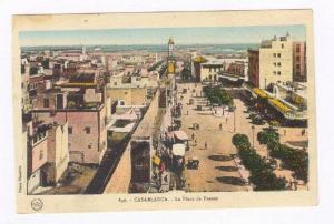Casablanca , Morocco, La Place de France , 1910s