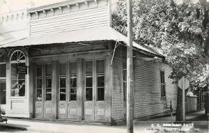 Jacksonville Oregon~CC Beekman Wells Fargo Bank~Schafer Cafe~1950s RPPC