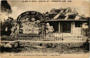 CPA AK INDOCHINA Saigon Le Tombeau de l'Eveque VIETNAM (957086)
