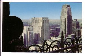 Skyline from Royal Bank Hotel, Toronto Ontario,